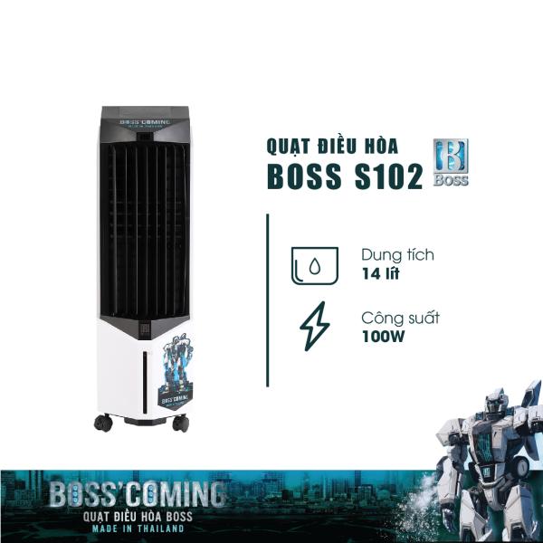 Bảng giá Quạt Điều Hòa Không Khi Boss S102 14.0 Lít (Quạt Hơi Nước) - Hàng Chính Hãng