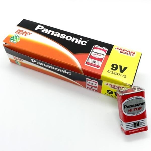 Hộp 12 Viên Pin 9V Panasonic 6F22