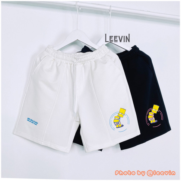 Quần short Unisex nam nữ HEY YOU Look But Dont Touch Leevin Store