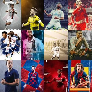 Combo 20 ảnh dán tường cầu thủ nổi tiếng 10x15cm - Trang trí bàn làm việc, bàn học - Tiện dụng bền đẹp - LiDO Sports thumbnail