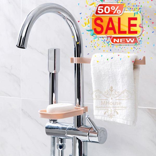Bộ kệ đa năng tiện ích gắn vòi nước vòi sen nhà bếp nhà tắm