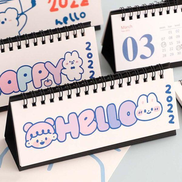 DFHRY Sáng tạo Văn phòng phẩm Ngày nhắc nhở Công cụ lập kế hoạch hàng tháng hàng tuần Đồ dùng văn phòng trường học Lịch máy tính để bàn Công cụ lập kế hoạch hàng ngày Lịch 2022 Người tổ chức chương trình nghị sự