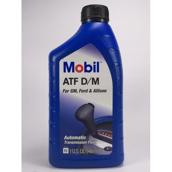 Dầu trợ lực tay lái, hộp số tự động Mobil ATF D/M 946ml - Nhập khảu USA