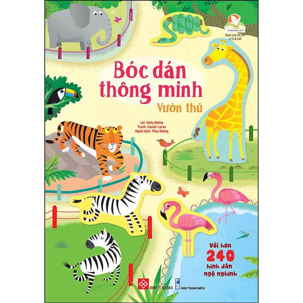 Mua Bóc Dán Thông Minh - Vườn Thú
