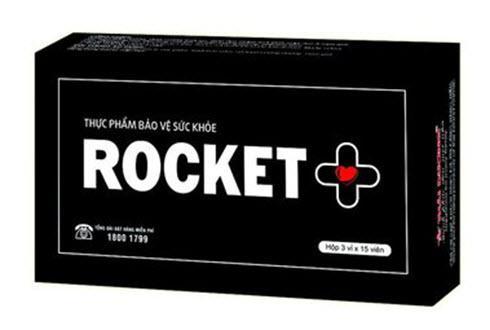 Rocket+ Rocket Plus hộp 45 viên hỗ trợ cải thiện sinh lý nam từ công ty Sao Thái Dương nhập khẩu
