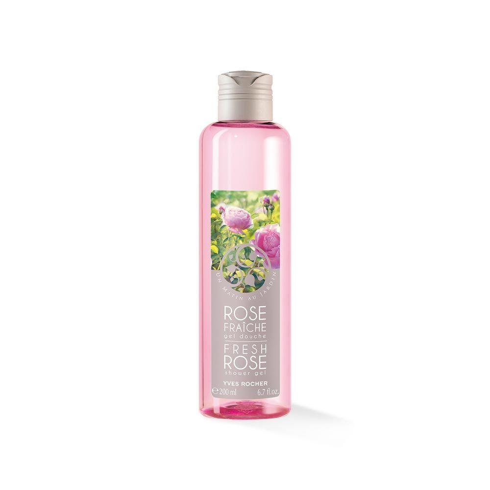 Sữa tắm YVES ROCHER SHOWER GEL FRESH ROSE 200 ML