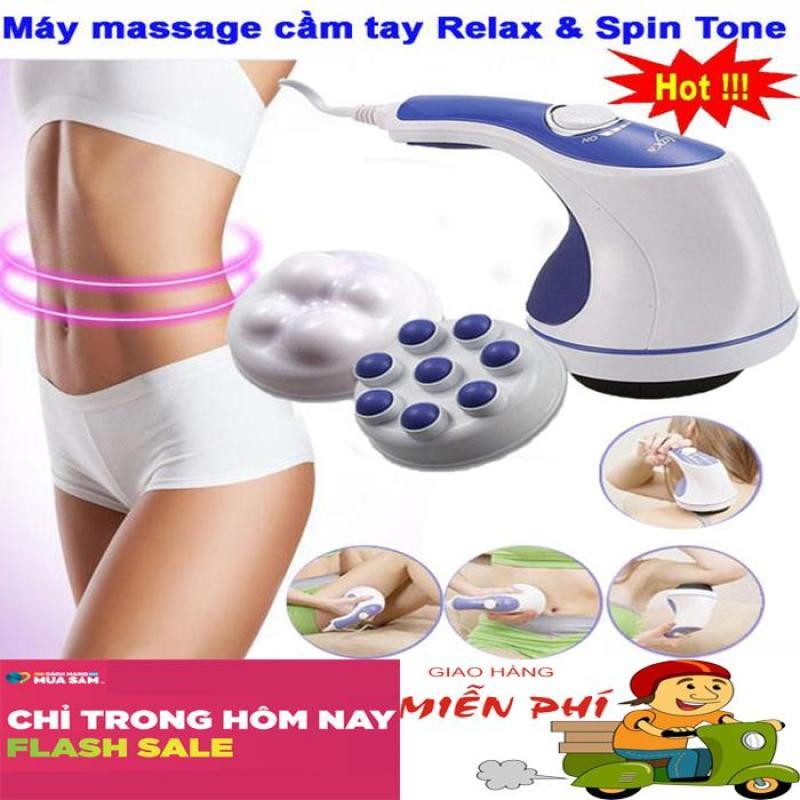 Máy Matxa Cầm Tay Loại Nào Tốt, Mua Máy Massage Cầm Tay Relax Spin Tone A781, Giúp Bạn Giảm Mệt Mỏi, Đánh Tan Mỡ Bụng, Giảm Cảm Giác Căng Cơ Và Phục Hồi Sức Khoẻ Sale 50% Bảo Hành 12 Tháng Bởi Bình An Shop