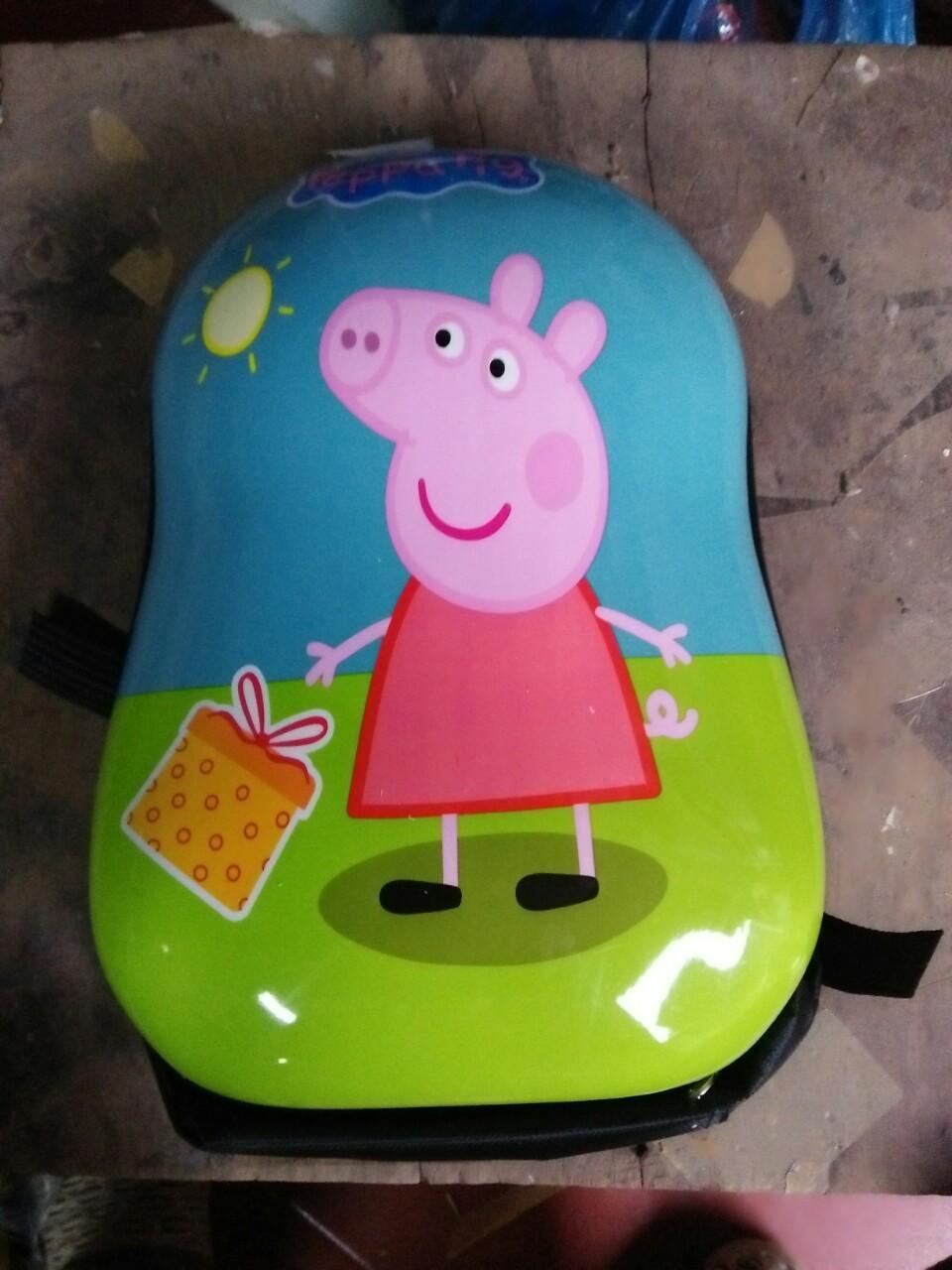 Ba lô mầm non Peppa Pig cho bé đi học