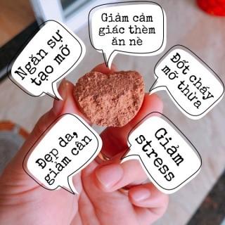 Kẹo Socola Giảm Cân Chokolade Vaegttab Đan Mạch Hộp Hồng (Hộp 40 viên) 4