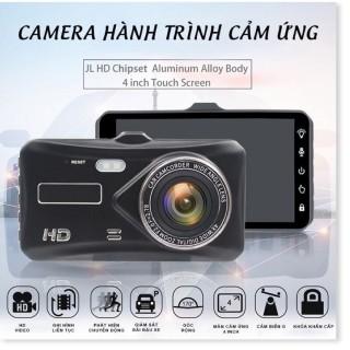 Camera Hành Trình Ô Tô Dual lens DVR, Màn Hình Cảm Ứng 4 Inch Full HD,Cam lùi rõ nét, Độ Phân Giải Cao Bảo Hành 12 Tháng thumbnail