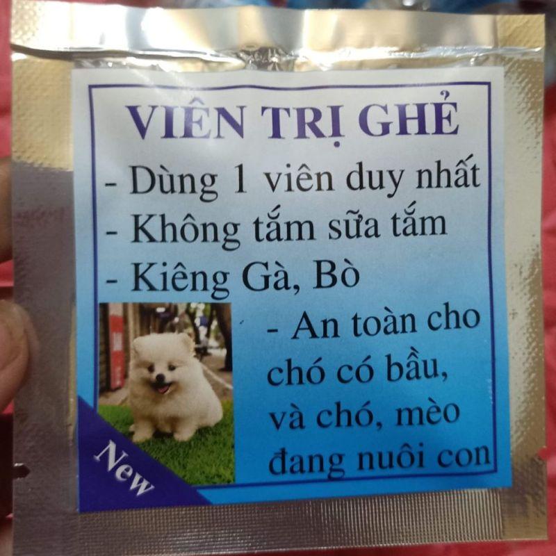 Viên nhai ghẻ..dùng cho cún cưng
