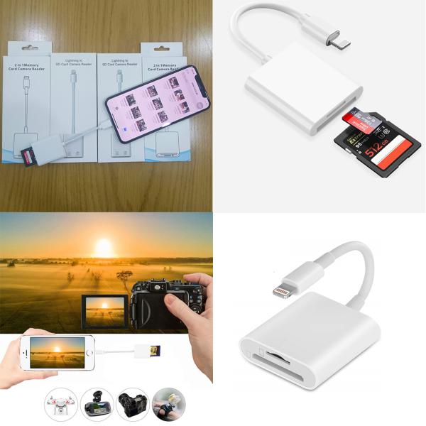Bảng giá Đầu đọc thẻ OTG cho iphone, ipad Phong Vũ