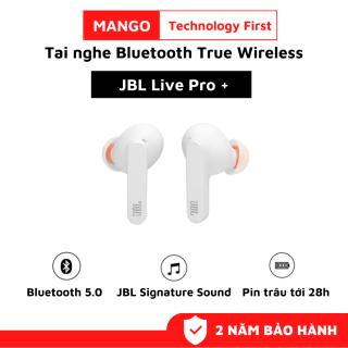 Tai nghe Bluetooth True Wireless JBL LIVE PRO+, Tai Nghe Nhét Tai Bluetooth Không Dây, Âm bass mạnh mẽ với công nghệ JBL Signature Sound, Pin Trâu Tới 28h, Chống Nước IPX4, Thiết Kế Bắt Mắt - Phù Hợp Với Mọi Người, Dùng Cho IOS và Androi thumbnail