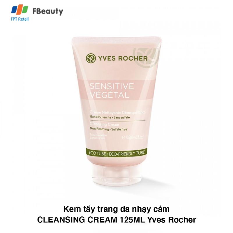 Kem Tẩy Trang Da Nhạy Cảm Yves Rocher Cleansing Cream 125Ml Yves Rocher cao cấp