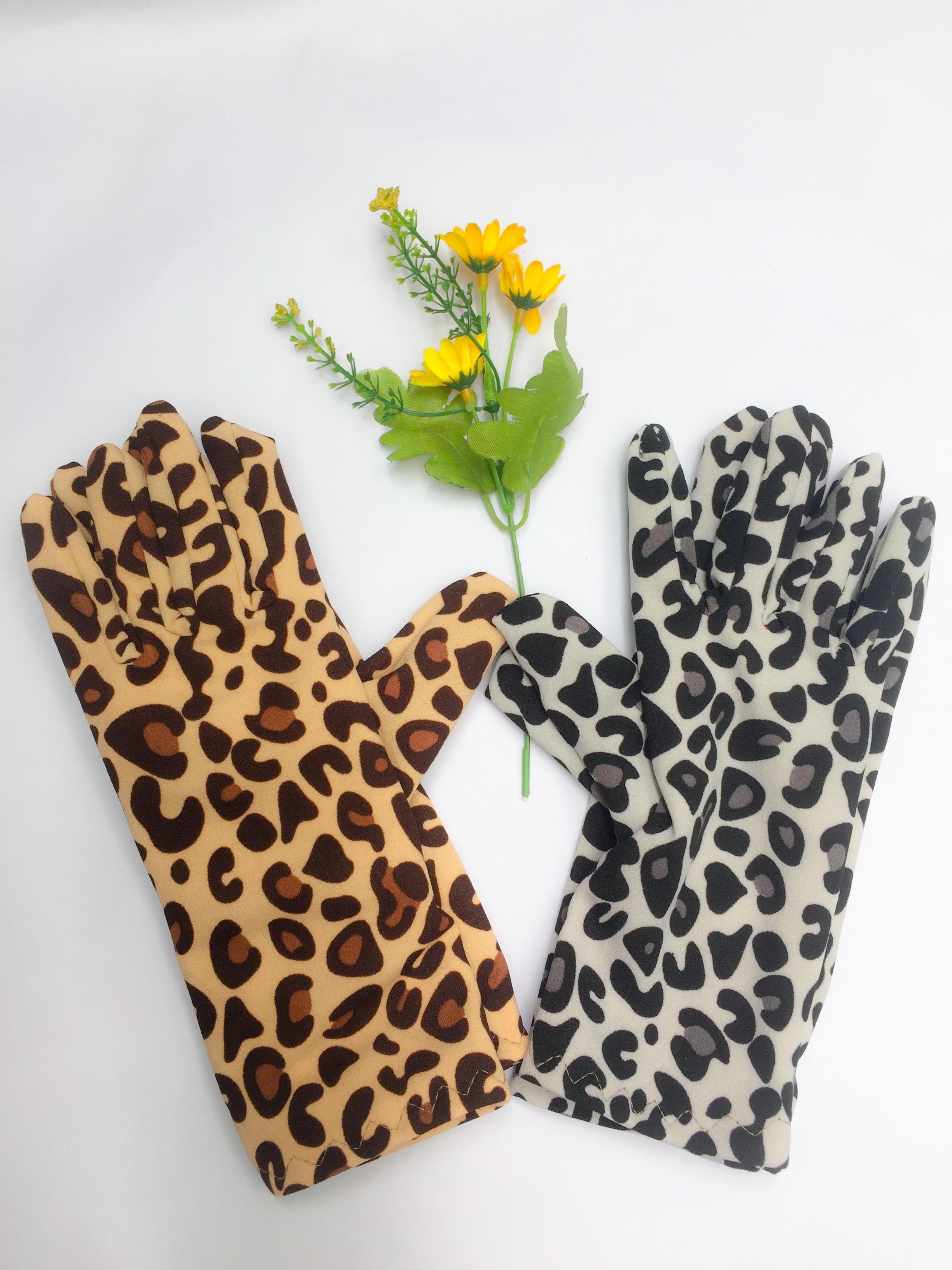 Set 2 đôi găng tay chống nắng da beo
