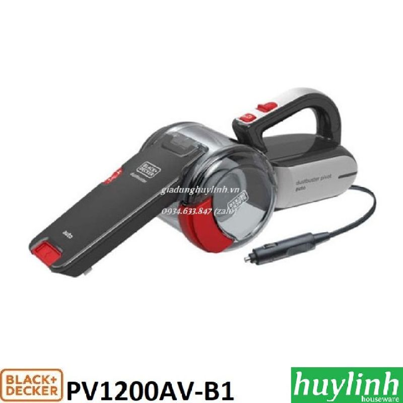 Máy hút bụi dành cho xe hơi Black Decker PV1200AV-B1
