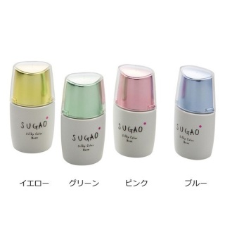 Kem Lo t Sugao Silky Color Base SPF20 PA+++ 20ml ca c ma u ha ng no i đi a Nha t thumbnail