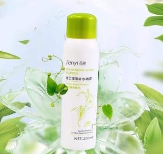 Xịt Khoáng Fenyi giữ ẩm cho da, giúp cố định lớp trang điêm, phù hợp cho da mụn 200ml thumbnail
