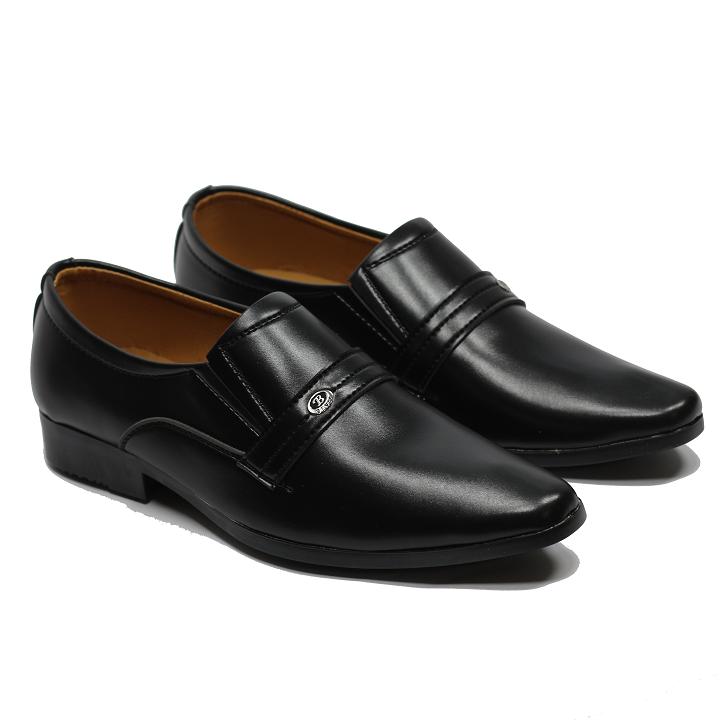 [HCM]Giày tây nam công sở da mềm họa tiết quai ngang QNG49