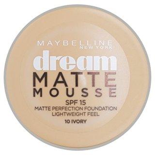 Phấn tươi Maybelline Dream Matte Mousse Make-up - Pháp (Cameo 020 - Trắng hồng) thumbnail