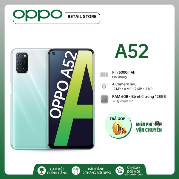 Điện thoại Oppo A52 (6GB/128GB)