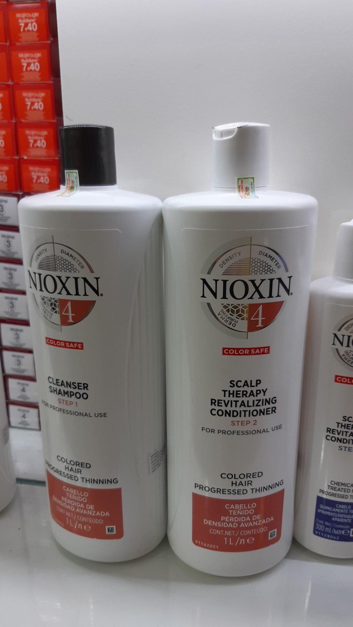 Dầu gội xả chống rụng tóc Nioxin System 4 1000mlx2 ( New 2019) chính hãng