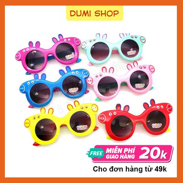 Giá bán Kính mát cho bé thiết kế hoạt hình dễ thương nhiều màu sắc - kính mát trẻ em Dumi Shop