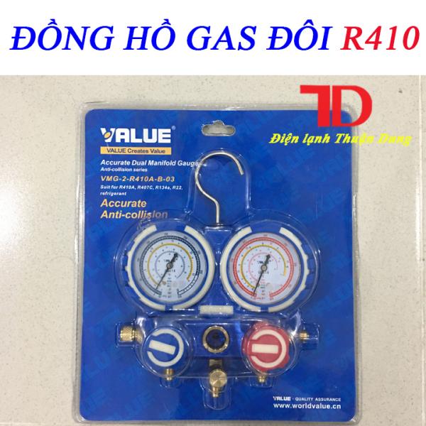 Bảng giá ĐỒNG HỒ GAS ĐÔI KHÔNG DÂY VALUE R410 Điện máy Pico