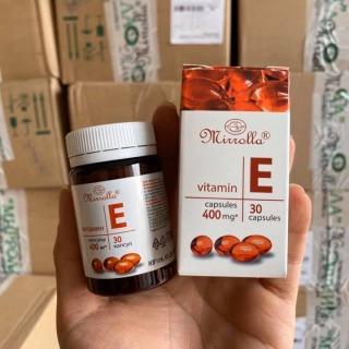Vitamin E Đỏ Nga 400mg [ có thể bôi đắp mặt ] trắng da thumbnail