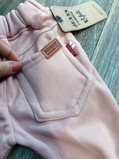 quần nỉ màu hồng nhạt cho bé gái 6-17kg thumbnail