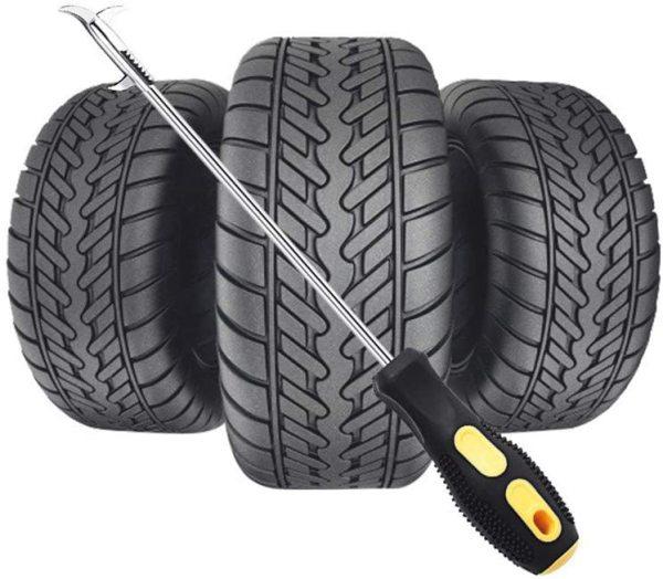 Dụng cụ nạy đinh, móc đá, cát - Bảo vệ lốp xe ô tô, xe máy, xe tải - Dùng làm tua vít - Thoát hiểm