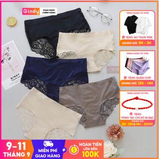 Quần Lót GINDY Mềm Giấu Đường May Phối Ren Cho Nữ QL0221002 thumbnail