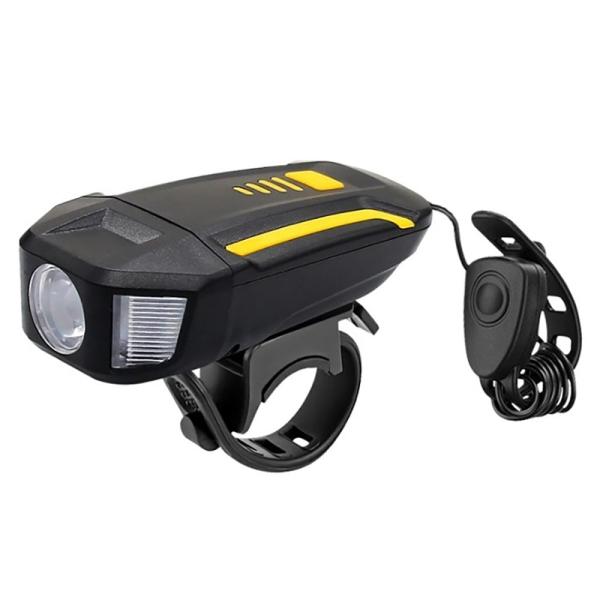 Mua Multifunction USB Bicycle Headlight LED Bicycle Horn Bike Front Light Waterproof Headlight Riding Hiking Camping Bike