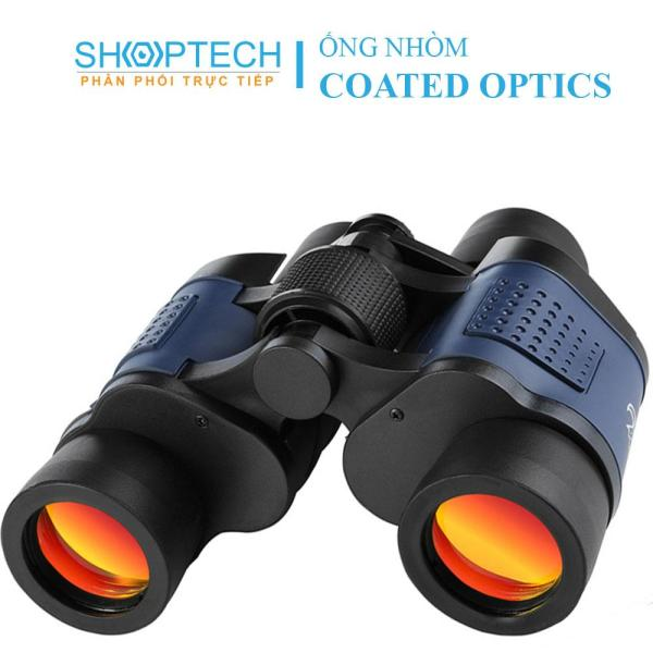Ống nhòm 2 mắt Coated Optics 60x60 - Hỗ trợ nhìn đêm - nhìn xa 1500m