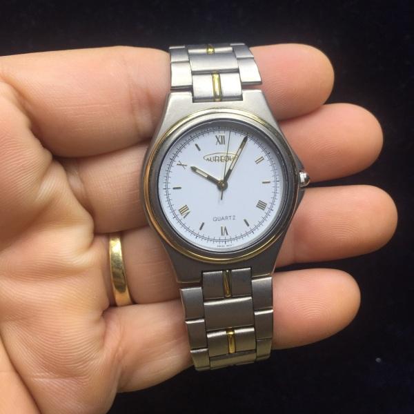 [HCM]Đồng hồ Si Nam Nữ Titanium hiệu Aureole Thụy Sĩ????