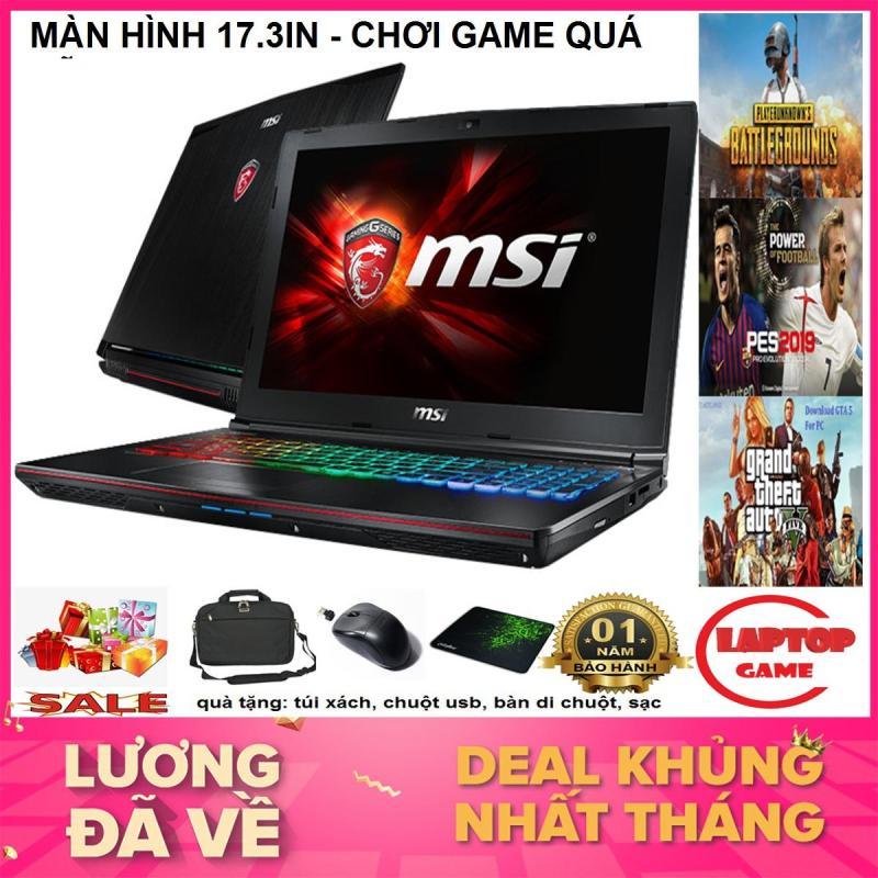 SIÊU GAME GIẢI TRÍ MÀN 17.3 / MSI GE72 2QD (Core i5-4210HQ, RAM 8GB, HDD 500G NVIDIA GeForce GTX960M, 17.3 inch Full HD ) Phím 7 Màu RGB