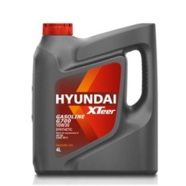 Nhớt ô tô máy xăng HYUNDAI XTEER Gasoline G700 10W30 SN 4L
