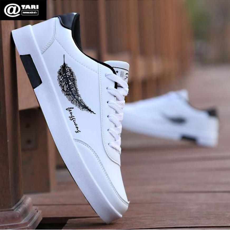 Giày Thể Thao Nam Trắng Xu Hướng 2019 - Thời Trang ATARI (LC01) - Phong Cách Thời Trang Mới giá rẻ