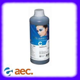 Mực in chuyển nhiệt Inktec Hàn Quốc chai 1 lít màu C (xanh) dành cho máy in Epson L110 L120 L220 L300 L310 L360 L365 L385 L405 L455 L565 L655 L805 L1300 L1800 T50 R1390 R1430 T60 WF7610 WF7710 WF7110 WF7210 thumbnail