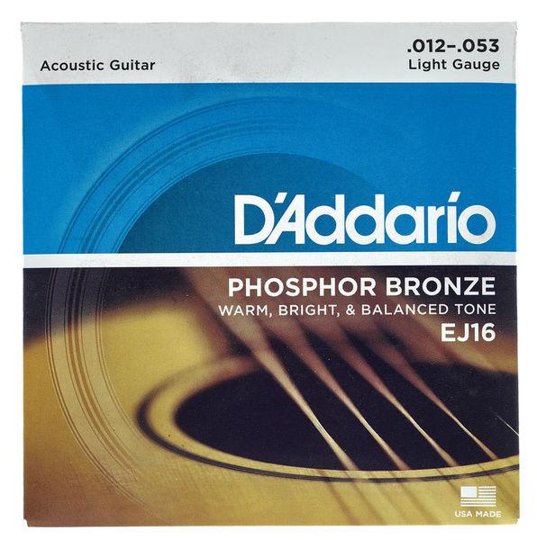 Bảng giá Dây đàn guitar acoustic DAddario EJ16 Phosphor Bronze Phong Vũ