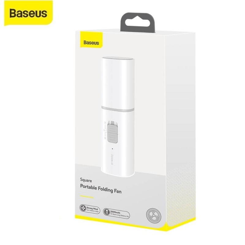 Quạt mini tích điện cầm tay Baseus CXZD -B02 hàng chính hãng bảo hành 12 tháng lỗi 1 đổi 1