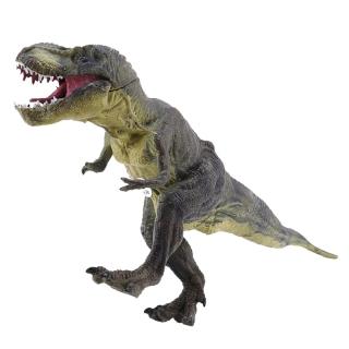 Jurassic Tyrannosaurus Rex Dinosaur Model Large Solid Simulated Dinosaur Toys 30X13X5Cm thumbnail