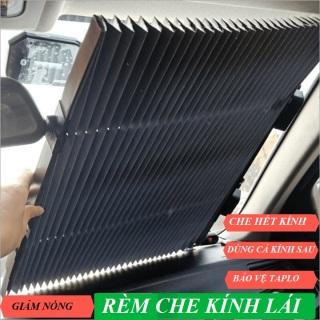[HCM]Tấm che nắng kính lái ô tô Hotaco rèm che nắng kính trước ô tô kích thước 65cm thumbnail