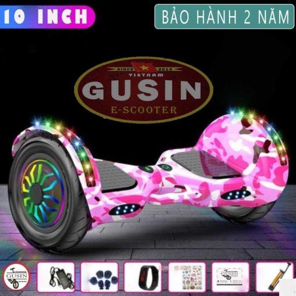 Mua [HCM]Xe Tự C&acircn bằng 10inch M&agraveu hồng Ch&iacutenh H&atildeng GuSin / có Video test xe / Loa Bluetooth 2.0 / cam kết bảo h&agravenh 2 năm