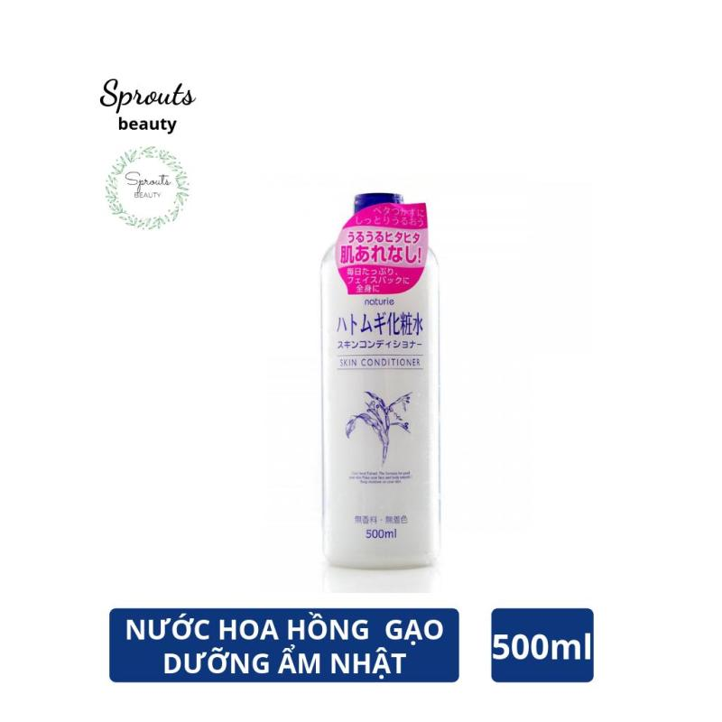 Nước Hoa Hồng Xuất Xứ Từ Nhật Naturie Skin Conditioner  @Sprouts Beauty cao cấp