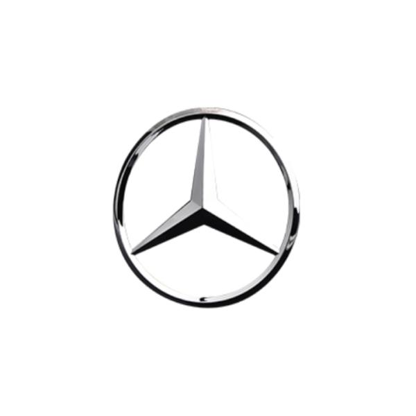 Logo biểu tượng sau xe ô tô, xe hơi Merce.des cao cấp M9 (Màu Bạc)