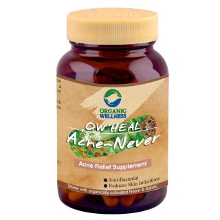 Viên uống hữu cơ trị mụn, kiểm soát dầu nhờn Acne Never thumbnail