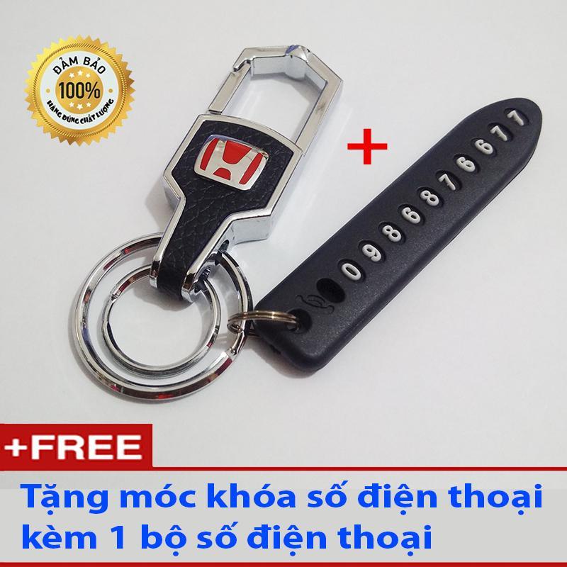 Mã Khuyến Mãi Móc Khóa Thái Lan Logo Honda Tặng Móc Khóa Số điện Thoại Chống Mất