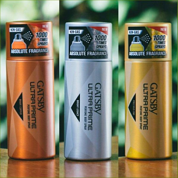 Xịt Toàn Thân Hương Nước Hoa Mạnh Mẽ,Quý Phái Nam Tính Đẳng Cấp Gatsby Ultra Prime Perfume Body Spray 150ml (100% From Indonesia) cao cấp