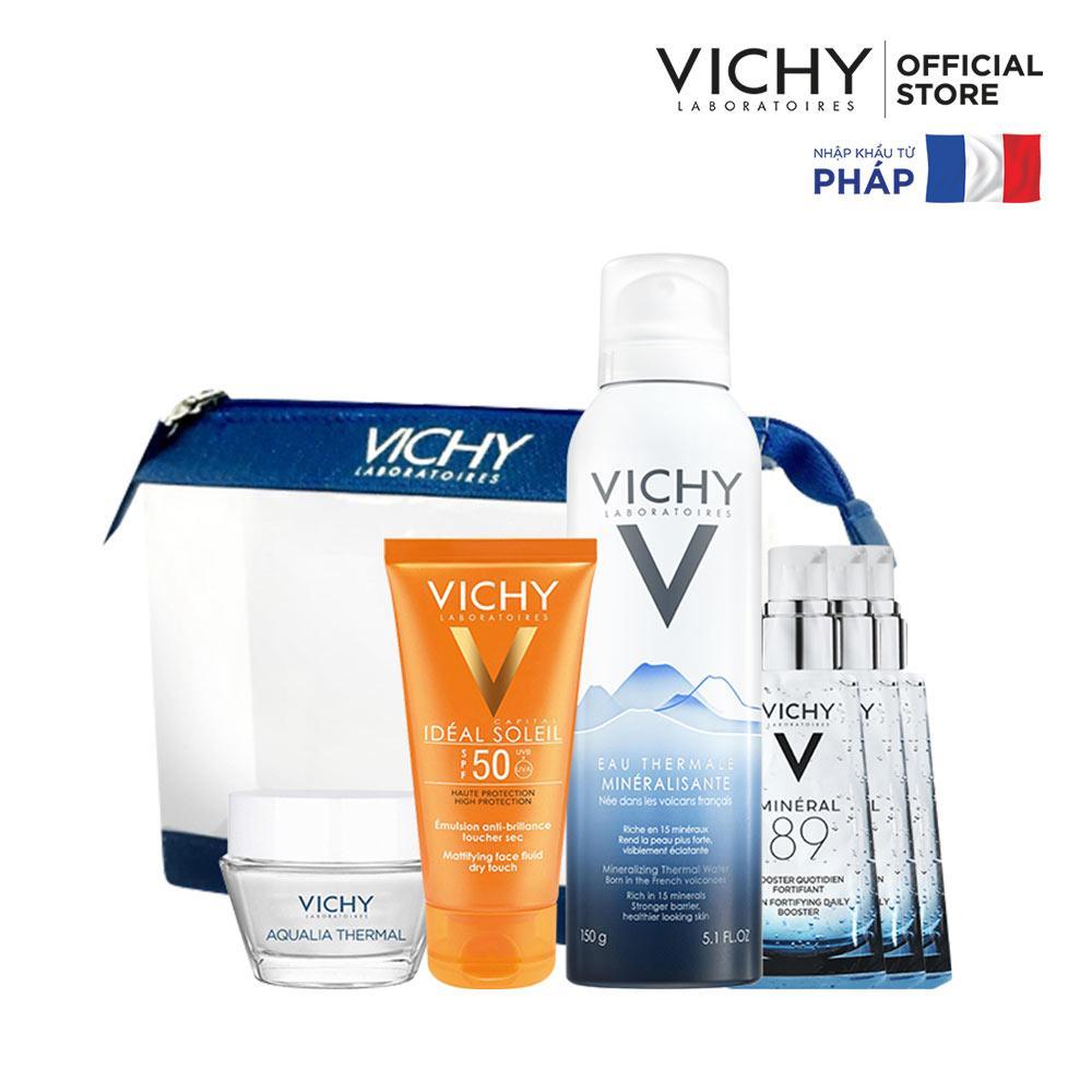 Bộ sản phẩm chống nắng và chăm sóc da toàn diện VICHY Ideal Soleil tốt nhất